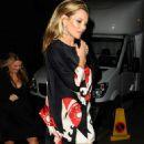 Kate Moss British Fashion Awards In London