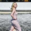 Elle Fanning – L'Oreal Runway Show in Paris
