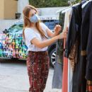 Holland Roden – Alice – Olivia by Stacey Bendet and Volkswagen mobile gifting suite in LA