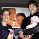 Ruud van Nistelrooy and Leontine Slaats