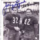 Johnny Lujack With Sid Luckman