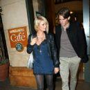 Paris Hilton With Model Boyfriend Alex Vaggo In Hollywood 2007-11-26 - 454 x 633