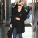Dido Armstrong - Dido Arriving At The Los Angeles International Airport - Feb 7 2007