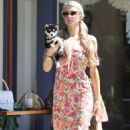Paris Hilton – Shopping candids in Malibu