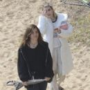 Emma Roberts – On set 'Paradise Hills' in Barcelona