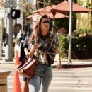 Alessandra Ambrosio – Out for lunch in Brentwood