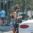 Vanessa Hudgens – Seen at a Zinque for lunch in West Hollywood