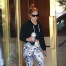 Jennifer Lopez – Leaving the gym in West Hollywood