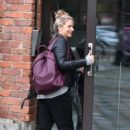 Gemma Atkinson – Arriving at Hits Radio in Manchester - 454 x 707