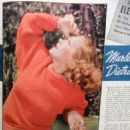 Marlene Dietrich - Screen Guide Magazine Pictorial [United States] (October 1940)