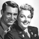 Ann Sheridan and Cary Grant