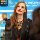 Jessica Chastain – On the set of the Today Show in New York City