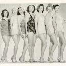 Joyce Mathews , Yvonne Duval , Gwen Kenyon , Sheila Darcy , Mary Parker , Marie DeForrest , Dolores Casey