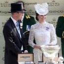 Prince Windsor and Kate Middleton : Royal Ascot 2017 - Day 1 - 454 x 488