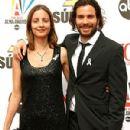 Santiago Cabrera and Anna Marcea