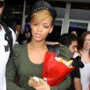 Rihanna - Arriving At Sydney Airport - 12/02/2010