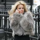Geri Halliwell out & about in London, 04-02-11