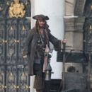 Johnny Depp at the Royal Naval College