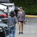 Jenna Dewan Tatum in Shorts Out in Los Angeles