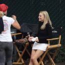 Margot Robbie – On the set of 'Once Upon a Time in Hollywood' in LA
