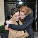 Alexina Graham and Luma Grohte at the Royal Monceau in Paris - 454 x 682