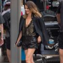 Keri Russell – Looks stunning while arrives to Jimmy Kimmel Live in LA