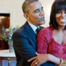 Barack Obama and Michelle Obama - 454 x 276