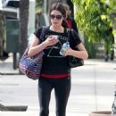 Ashley Greene out in Studio City (January 29)