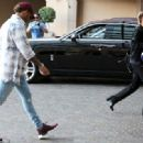 Sushi date! Sofia Richie, 18, meets up with Lewis Hamilton, 32, for dinner at Japanese restaurant in Beverly Hills