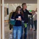 Selma Blair and boyfriend shopping in Melrose - 454 x 683