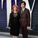 Christina Hendricks and Geoffrey Arend: 2019 Vanity Fair Oscar Party Hosted By Radhika Jones - Arrivals