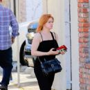 Ariel Winter – Heads to work at a studio in Los Angeles