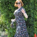 Christina Hendricks – Instyle Day of Indulgence Party in Los Angeles - 454 x 681