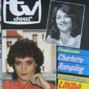 Charlotte Rampling - TV Jour Magazine Cover [France] (16 May 1984)