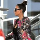 Kim Kardashian: at LAX aiport in LA