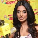 Sarah Promotes Game Movie at Radio Mirchi
