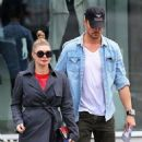 Fergie and her husband Josh Duhamel shop for furniture in West Hollywood, California on December 22, 2012