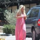 Tori Spelling – Clebrates Her 45th Birthday At Garland Hotel In Los Angeles - 454 x 548