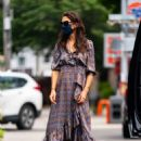 Katie Holmes – With her daughter Suri out in NYC