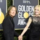 Nicole Kidman and Keith Urban At The 75th Annual Golden Globes - Arrivals (2018) - 454 x 303