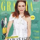 Julianne Moore - Grazia Magazine Cover [Germany] (11 August 2016)