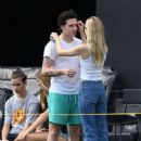 Nicola Peltz and Brooklyn Beckham – Out in Fort Lauderdale - 454 x 676