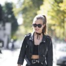 Josephine Skriver – Looking Hot while out in Paris - 454 x 681