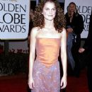 Keri Russell attends The 56th Annual Golden Globe Awards - Red Carpet (1999)