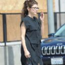 Marisa Tomei Leaving Gracias Madre Restaurant In Melrose