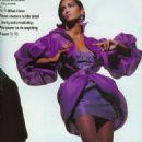Yasmeen Ghauri - Vogue Magazine Pictorial [United Kingdom] (April 1991)
