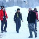 Mariah Carey at a snow in Aspen