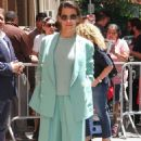 Evangeline Lilly at The View in New York - 454 x 778