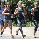 Julianne Hough – Jogging in a Park in Los Angeles 8/13/2016 - 454 x 363