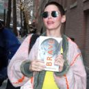 Rose McGowan at The View in NYC
